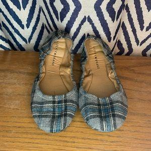 Lucky Brand Plaid Erin Ballet Flat